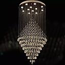 billige Vedhæng Lys-Lysestager Krystal/LED Moderne / Nutidig/Tradisjonell / Klassisk/Rustikt/hytte/Tiffany/Vintage/Rustik/Ø