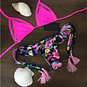 abordables Bolsos de Mano y Bolsos de Noche-Mujer Boho / Bloque de Color Bikini - Estampado, Floral / Sin Soporte / Sujetador sin Acolchado / Sexy