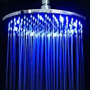 billige LED Dusjhoder-Moderne Regndusj Krom Trekk - Regnfall Økovennlig LED, dusjhode