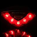 baratos Luzes de Bicicleta & Refletores-Luz Traseira Para Bicicleta / luzes de segurança / Luzes da cauda LED - Ciclismo Impermeável, Fácil de Transportar AAA 50-100 lm Bateria Ciclismo - CoolChange