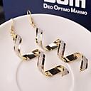 preiswerte Modische Ohrringe-Damen Tropfen-Ohrringe - Welle Modisch Silber / Golden Für Hochzeit Party Alltag