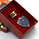 baratos Quebra-Cabeças 3D-Jóias Crachá Inspirado por The Legend of Zelda Fantasias Anime/Vídeo Games Acessórios para Cosplay Crachá Liga Homens