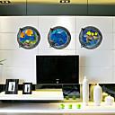 رخيصةأون ملصقات الحائط-حيوانات رومانسية 3D كارتون النباتية ملصقات الحائط لواصق لواصق الثلاجة, PVC تصميم ديكور المنزل جدار مائي زجاج / الحمام جدار
