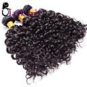 olcso Tartozékok-3 csomag Brazil haj Hullám Az emberi haj sző Emberi haj sző Human Hair Extensions / Hullámos