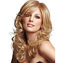 preiswerte Synthetische Perücken ohne Kappe-Menschliches Haar Capless Perücken Echthaar Wellen Kappenlos Perücke