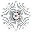 رخيصةأون ساعات جدران عصرية-الحديثة / المعاصرة الحديد دائري داخلي,AA ساعة الحائط