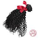 זול פתרון חפיסה אחת-שיער פרואני מתולתל / Kinky Curly / מתולתל לארוג שיער אנושי טווה שיער אדם שוזרת שיער אנושי תוספות שיער אדם / קינקי קרלי