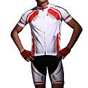 preiswerte Radtrikot und Shorts / Hosen Sets-Acacia Kurzarm Fahrradtriktot mit Fahrradhosen - Rot Blau Fahhrad Shorts/Laufshorts Trikot/Radtrikot Kleidungs-Sets, Anatomisches Design,