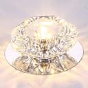 tanie Mocowanie przysufitowe-Podtynkowy Światło rozproszone Inne Metal Kryształ, LED 110-120V / 220-240V Ciepła biel / Chłodna biel / RGB Źródło światła LED w zestawie / LED zintegrowany