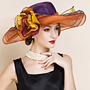 cheap Women's Flats-Women's Flax Headpiece - Wedding/Special Occasion Hats 1 Piece