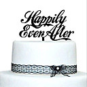 cheap Cake Toppers-Cake Topper Garden Theme Classic Theme Acrylic Wedding Anniversary Bridal Shower with 1 OPP