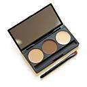 abordables rubor-3 colores Lápices de Cejas Polvos Pinceles de Maquillaje Otro Ojo Maquillaje Cosmético