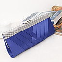 cheap Clutches & Evening Bags-Women's Bags Silk / Metal Evening Bag Crystal / Rhinestone Black / Purple / Royal Blue