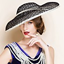cheap Party Headpieces-Women's Flax Headpiece - Wedding / Special Occasion Hats 1 Piece
