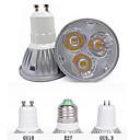 preiswerte Zubehör für GoPro-3000/6500 lm GU10 GU5.3(MR16) E26/E27 LED Spot Lampen MR16 3 Leds Hochleistungs - LED Dekorativ Warmes Weiß Kühles Weiß Wechselstrom