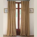 povoljno Prozorske zavjese-Zavjese Zavjese Living Room Jednobojni Posteljina / pamuk Blend Print