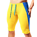 cheap Lamp Bases & Connectors-Men's Patchwork Running Shorts - Yellow, Blue, Dark Green Sports Fashion Shorts / Tights / Leggings Fitness, Gym Activewear Breathable,