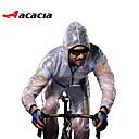 economico Giacche da ciclismo-Acacia Manica lunga Giacca da ciclismo - Bianco / Verde / Grigio Bicicletta Set di vestiti, Antivento, Ompermeabile, Traspirante, Asciugatura rapida, Strisce riflettenti, Inverno Tinta unica