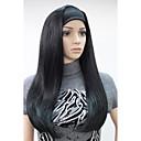 preiswerte Synthetische halbe Perücken-Synthetische Perücken Glatt Synthetische Haare Perücke Damen Kappenlos Hivision