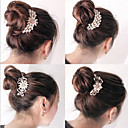 cheap Hair Accessories-Clips Hair Accessories Pearl Wigs Accessories Women's 1pcs pcs 11-20cm cm Daily Classic High Quality