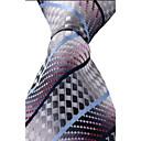 cheap Men's Rings-Unisex Party Work Basic Polyester Necktie Print