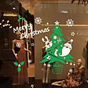 preiswerte Ferienhaustextilien-Fenster Film & Aufkleber Dekoration Moderne Bäume / Blätter PVC / Vinyl Fenster-Aufkleber