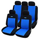ราคาถูก ผ้าคลุมเบาะ-Car Seat Covers ที่นั่งครอบคลุม สีเทา / แดง / ฟ้า สิ่งทอ ธรรมดา สำหรับ Volvo / Volkswagen / Toyota