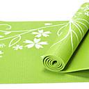preiswerte Matten-Yoga Matte Geruchsfrei, Umweltfreundlich, Klebrig PVC Wasserdicht, Rasche Trocknung, Rutschfest Zum Yoga / Pilates Rot, Grün, Blau