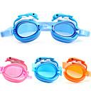 baratos Óculos Natação-Óculos de Natação Anti-Nevoeiro Tamanho Ajustável Prova-de-Água Acetato Acrílico Rosa Azul Laranja Rosa Azul Laranja