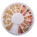 baratos Strass & Decorações-Jóias de Unhas Artistíco / Adorável / Colorido arte de unha Manicure e pedicure Clássico / Chique & Moderno Presente / Diário / Jóias de unha