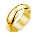hesapli Kolyeler-Kadın's Yüzük - Şık 6 / 7 / 8 Sarı Uyumluluk Düğün / Parti / Gece