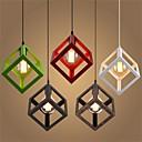 tanie Lampy wiszące-Geometric Shape Lampy widzące Światło rozproszone Metal Styl MIni 110-120V / 220-240V Ciepła biel Nie zawiera żarówek / E26 / E27