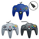 cheap Wii Accessories-PC-N64001 Wired Game Controller For Wii U / Wii ,  Gaming Handle Game Controller Metal / ABS 1 pcs unit