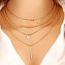 cheap Necklaces-Women's Layered Necklace - Fashion Gold Necklace For Special Occasion, Birthday, Gift