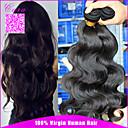 preiswerte Andere-3 Bündel Mongolisches Haar Große Wellen Echthaar Menschenhaar spinnt Menschliches Haar Webarten Haarverlängerungen