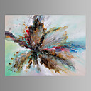 cheap Fans & Parasols-Oil Painting Hand Painted - Abstract Modern Canvas