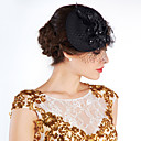 cheap Party Headpieces-Crystal / Feather / Fabric Tiaras / Flowers / Hats with 1 Wedding / Special Occasion / Party / Evening Headpiece