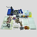 cheap Starter Tattoo Kits-BaseKey Tattoo Machine Starter Kit, 1 pcs Tattoo Machines with 7 x 20 ml tattoo inks - 1 alloy machine liner & shader