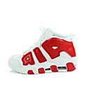 رخيصةأون سنيكرز رجالي-للرجال للمرأة أحذية جلد ربيع خريف كرة السلة دانتيل إلى أسود أبيض أحمر أزرق