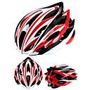 お買い得  自転車用ヘルメット-大人 バイクヘルメット N / A 通気孔 耐衝撃性, サイズ調整機能 EPS, PC スポーツ ロードバイク / 登山 / マウンテンバイク - 白 + 赤 / 黒 + 銀 / 赤 + 青