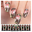 billige Heldækkende negleklistermærker-1 pcs 3D Negle Stickers Negle Smykker Negle kunst Manicure Pedicure Smuk Mode Daglig / Negle smykker / 3D Nail Stickers