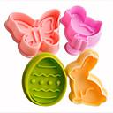 billige Choker-halskjeder-Bakeware verktøy Plast GDS Kake Cake Moulds 1pc