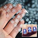preiswerte Nagel Strass & Dekorationen-1 pcs 3D Nails Nagelaufkleber Nail Schmuck Nagel Kunst Maniküre Pediküre lieblich Modisch Alltag / Nagelschmuck / 3D Nagel Sticker