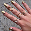 זול Fashion Ring-בגדי ריקוד נשים סט תכשיטים - סגסוגת נשים תכשיטים מוזהב עבור Party יומי קזו'אל מתכוונן
