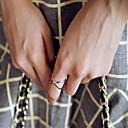 זול Fashion Ring-בגדי ריקוד נשים מתרסק סט תכשיטים / טבעות הגדר - סגסוגת אופנתי מתכוונן כסף / מוזהב עבור Party / יומי / קזו'אל