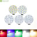 billige Negleklistremerker-SENCART 700-900lm G4 LED-spotpærer MR11 15 LED perler SMD 5630 Mulighet for demping Varm hvit / Naturlig hvit / Rød 12V / 24V / 9-30V