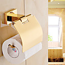 cheap Toilet Paper Holders-Toilet Paper Holder Contemporary Brass 1 pc - Hotel bath