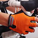 preiswerte Radhandschuhe-Nuckily Sporthandschuhe Fahrradhandschuhe Feuchtigkeitsdurchlässigkeit / tragbar / Atmungsaktiv Fingerlos Nylon Rennsport / Radsport /