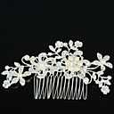 cheap Clutches & Evening Bags-Women's Elegant Zircon / Rhinestone / Alloy Hair Comb Flower / Hair Combs / Hair Combs
