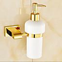 ieftine Soap Dispensers-Dispenser Săpun Contemporan Alamă 1 piesă - Baie
